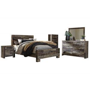 Derekson Gray 6-Piece Queen Bedroom Set