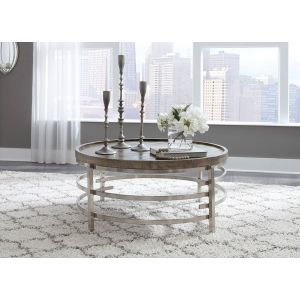 Zinelli Gray Round Coffee Table