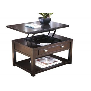 Hatsuko Dark Brown Lift Top Coffee Table