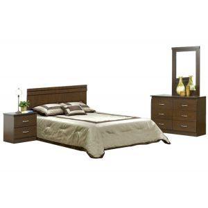 Chocolate 3-Piece Bedroom Set