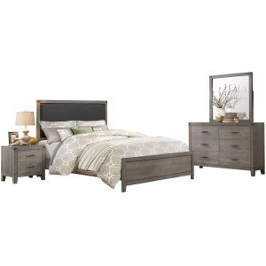 Grey 6-Piece Full Bedroom Set