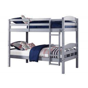 Grey Twin&Twin Bunk Bed