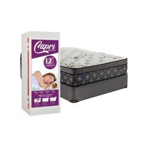 Capri Full Organic Mattress Set in a box