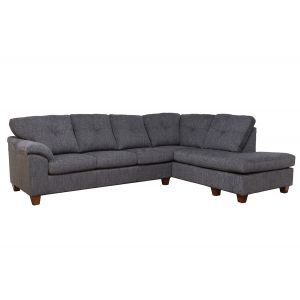 Argent Midnight 2-Piece Sectional