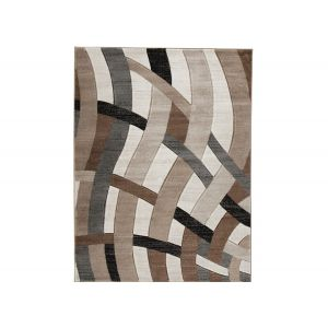 Jacinth Brown Area Rug