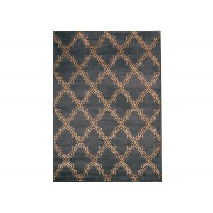 Natalius Black&Brown Area Rug