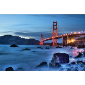 Golden Gate Magic 24 x 36 Print