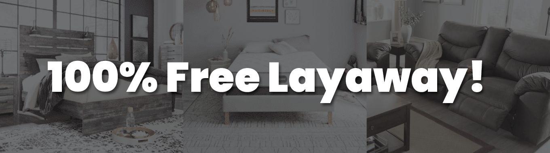 100% Free Layaway