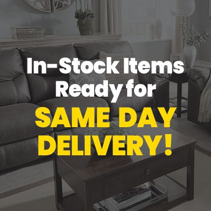 In-Stock Items Ready for Same Day Delivery