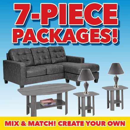 7-Piece Packages!