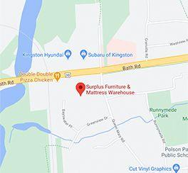 Surplus Furniture - Kingston Ontario Google Map