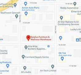 Surplus Furniture - Medicine Hat Albert Google Map