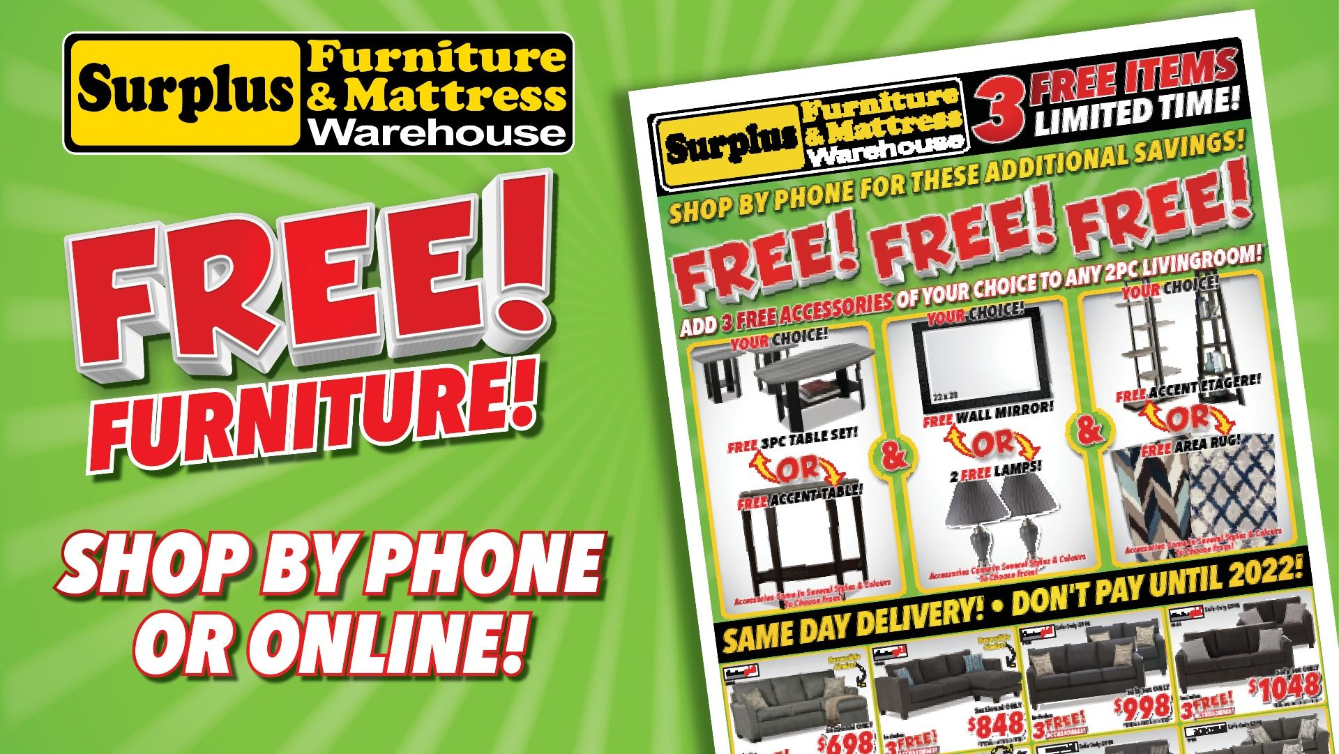 Surplus Furniture Brantford Weekly Ads