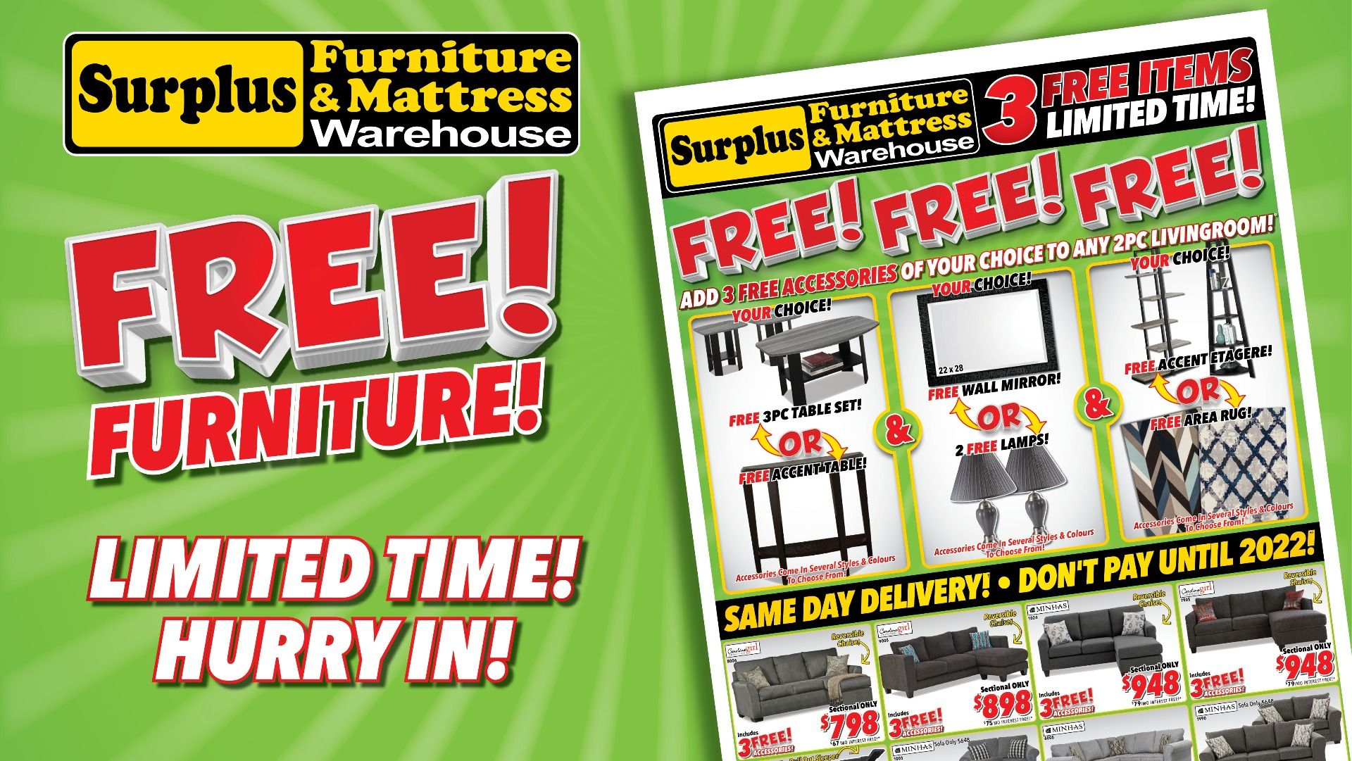 Surplus Furniture Charlottetown Weekly Ads